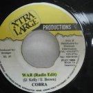 """COBRA jamaica 45 WAR 7"""" Reggae XTRA-LARGE-PRODUCTIO"""