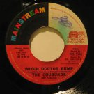 """CHUBUKOS usa 45 WITCH DOCTOR BUMP/HOUSE OF RISING FUN 7"""" Rock WRITING ON LABEL M"""
