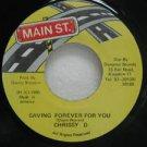 "CHRISSY D jamaica 45 SAVING FOREVER FOR YOU 7"" Reggae MAIN-ST"
