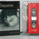 CHAYANNE peru cassette PROVOCAME Latin SONY excellent