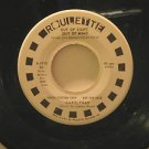"""CAROLFRAN usa 45 OUT OF SIGHT OUT OF MIND/SO CLOSE 7"""" Vocal PROMO/WHITE LABEL/ST"""