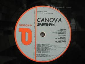 """CANOVA usa 12"""" SWEETNESS Dj WHITE JACKET D-GROOVY"""