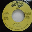 "BURRU BANTON jamaica 45 WARN DEM 7"" Reggae MASSIVE-B"