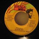 "BUJU BANTON & BEENIE MAN jamaica 45 PRINCIPLE 7"" Reggae CARGAMEL"