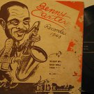 """BENNY CARTER usa 45 RECORDED IN 1943 7"""" Jazz PICTURE SLEEVE DELUXE"""