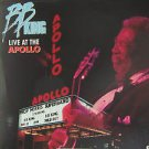 """BB KING usa display LIVE AT THE APOLLO 12"""" X 12"""" DOUBLE-SIDED POSTER. THIS IS NO"""