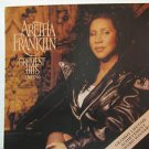 "ARETHA FRANKLIN usa display GREATEST HITS Soul 12"" X 12"" DOUBLE-SIDED POSTER. TH"