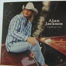"""ALAN JACKSON usa display EVERYTHING I LOVE Country 12"""" X 12"""" DOUBLE-SIDED POSTER"""