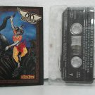 AEROSMITH mexico cassette NINE LIVES Rock SPANISH PRINT COLUMBIA excellent