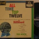 TED HEATH usa LP ALL TIME TOP TWELVE Jazz BLUE BACK STEREO LONDON excellent