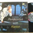 STAN KENTON france LP RENDEZVOUS WITH KENTON Jazz CAPITOL excellent