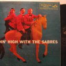 SABRES usa LP RIDIN' HIGH WITH Jazz RCA