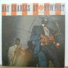 RAY CHARLES usa LP AT NEWPORT Jazz ATLANTIC