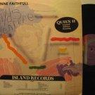MARIANNE FAITHFULL usa LP A CHILD'S ADVENTURE Rock PROMO/DJ STRIP ISLAND excelle