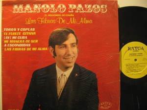 MANOLO PAZOS usa LP LAS FIBRAS DE MI ALMA Latin IN SHRINK WRAP RAYCA excellent