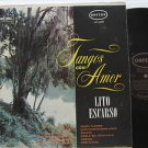 LITO ESCARSO latin america LP TANGOS CON AMOR ORFEON