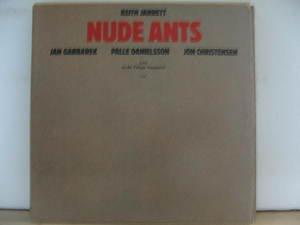 KEITH JARRETT usa LP NUDE ANTS Jazz ECM
