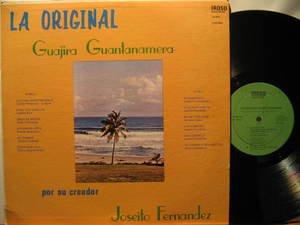 JOSEITO FERNANDEZ usa LP GUAJIRA GUANTANAMERA Latin TRACK B1 DAMAGED IROSO