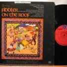HOLLYWOOD POPS ORCHESTRA usa LP FIDDLER ON THE ROOF Audiophile QUADRAPHONIC CAPI