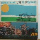 HERBIE MANN usa LP LIVE AT NEWPORT Jazz ATLANTIC