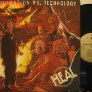 H.E.A.L. usa LP CIVILIZATION VS. TECHNOLOGY Rock SAMPLER/ORIGINAL INNER SLEEVE E