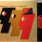 EMERSON LAKE & POWELL usa LP S/T SELF SAME UNTITLED Rock PROMO POLYDOR excellent