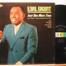 EARL GRANT usa LP JUST ONE MORE TIME Vocal DECCA excellent