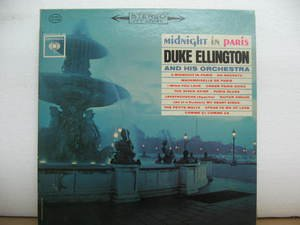 DUKE ELLINGTON usa LP MIDNIGHT IN PARIS Jazz COLUMBIA