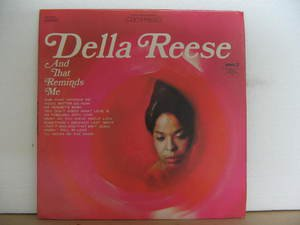 DELLA REESE usa LP AND THAT REMINDS ME Jazz PICKWICK