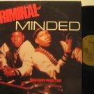 CRIMINAL MINDED usa LP S/T SELF SAME UNTITLED Dj B BOY excellent