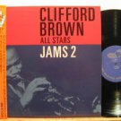CLIFFORD BROWN ALL STARS japan LP JAMS 2 Jazz WITH INSERT EMARCY excellent