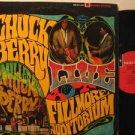 CHUCK BERRY usa LP LIVE AT FILLMORE AUDITORIUM Rock excellent