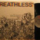 BREATHLESS usa LP NOBODY LEAVES THIS SONG ALIVE Rock PUNCHED HOLE EMI excellent