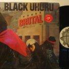 BLACK UHURU usa LP BRUTAL Soul IN SHRINK WRAP RAS excellent