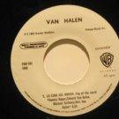 """VAN HALEN mexico 45 LA CIMA DEL MUNDO 7"""" Rock PROMO/SAME SONG ON BOTH SIDES WB"""