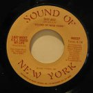 "SOUND OF NEW YORK usa 45 LAST NIGHT A D.J. SAVED MY LIFE 7"" Rock SNY 602"