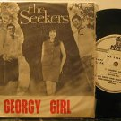 """SEEKERS colombia 45 GEORGY GIRL 7"""" Rock PICTURE SLEEVE ODEON"""