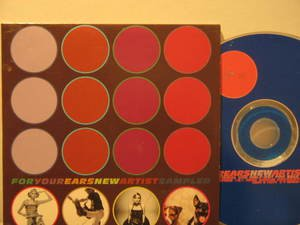 SAMPLER/BRENDAN BENSON/KRISTEN BATTY/PLUTO usa CD FOR YOUR EARS Rock VIRGIN exce