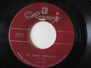 """ROY KING usa 45 ST.JAMES INFIRMARY/CAN'T FEEL THOSE KISS 7"""" Country WITH ORIGINA"""