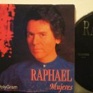 RAPHAEL mexico CD MUJERES Spain PROMO SINGLE POLYGRAM excellent