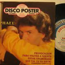"""RAPAHEL mexico 45 DISCO POSTER 7"""" Spain PICTURE SLEEVE CBS"""