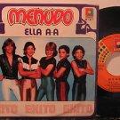 "MENUDO mexico 45 ELLA A A 7"" Pop PICTURE SLEEVE RAFF"
