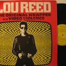 """LOU REED mexico 12"""" THE ORIGINAL WRAPPER Rock SPANISH PRINT RCA excellent"""