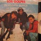 """LOS GOLPES mexico 45 OLVIDARTE NUNCA 7"""" Rock PICTURE SLEEVE EMI"""