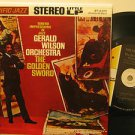 """GERALD WILSON usa 45 THE GOLDEN SWORD 7"""" Jazz PICTURE SLEEVE/PUNCHED HOLE PACIFI"""