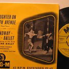 """GENE KELLY usa 45 SLAUGHTER ON TENTH AVENUE 7"""" Vocal PICTURE SLEEVE MGM"""