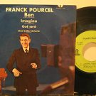 "FRANCK POURCEL mexico 45 BEN 7"" Easy PICTURE SLEEVE ODEON"