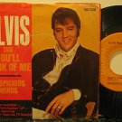 """ELVIS PRESLEY usa 45 YOU'LL THINK OF ME 7"""" Rock PICTURE SLEEVE RCA"""