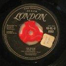 """CRESCENDOS u.k. 45 OH JULIE/MY LITTLE GIRL 7"""" Vocal STICKER ON LABEL LONDON"""