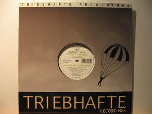 "COMBAT FORCE u.k. 12"" ROCK THE BEAT/ACTIVITY OF THE STREET Dj TRIEBHAFTE excelle"